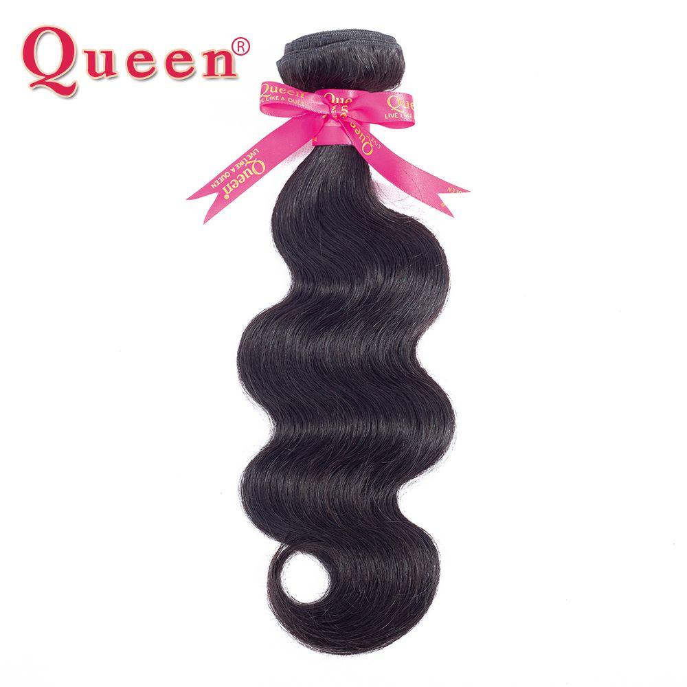 Reine Cheveux Produits Péruvienne Vague de Corps Faisceaux de Cheveux Remy de Cheveux Humains Weave Bundles Extensions Peuvent Acheter 3 ou 4 Bundles avec Fermeture