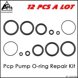 Paintball Pcp tangan perbaikan pompa kit Karet Oring Seal Gasket 12 pcs 1 set O-ring cocok untuk pompa tidak bukit pcp pompa