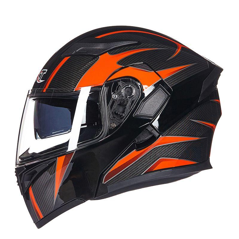 GXT Motorcycle Helmet Double Visors Full face moto Helmets Racing Motorbike Filp Up Cool Men riding casco Motorcycle Helmet