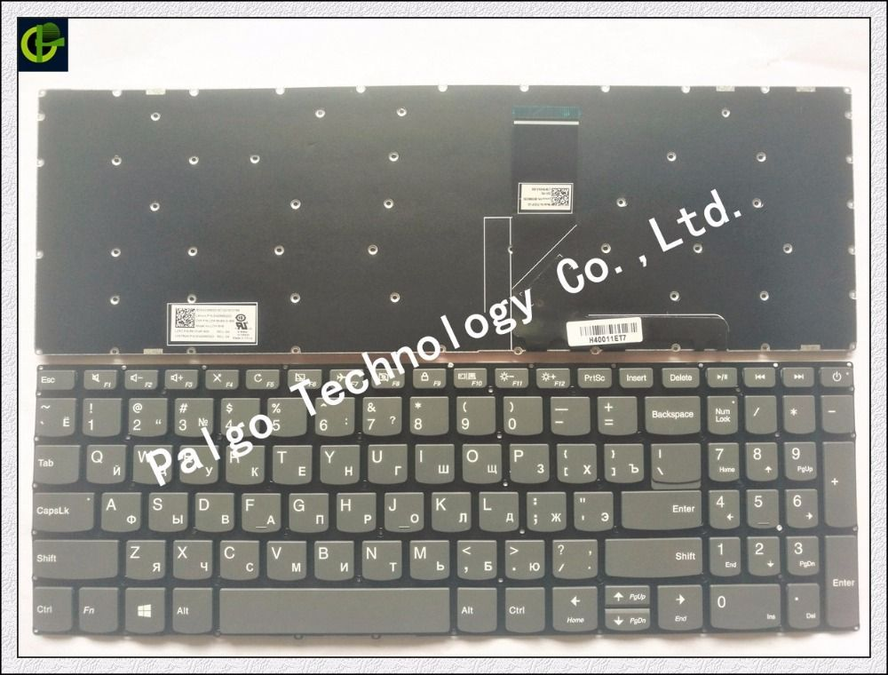 <font><b>Russian</b></font> New Keyboard for Lenovo IdeaPad 320-15 320-15ABR 320-15AST 320-15IAP 320-15IKB 320S-15ISK 320S-15IKB RU Black keyboard