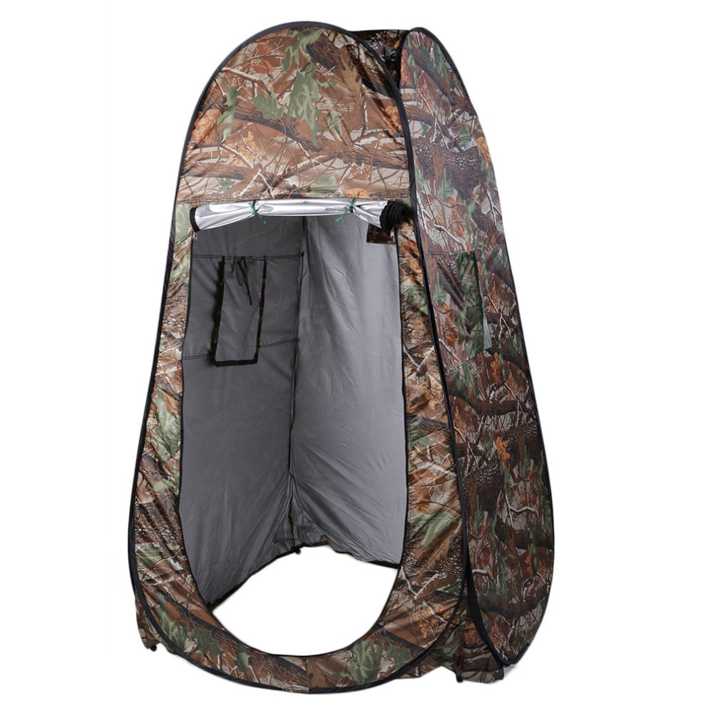 Free Shipping shower tent beach fishing shower outdoor camping toilet tent,<font><b>changing</b></font> room shower tent with Carrying Bag