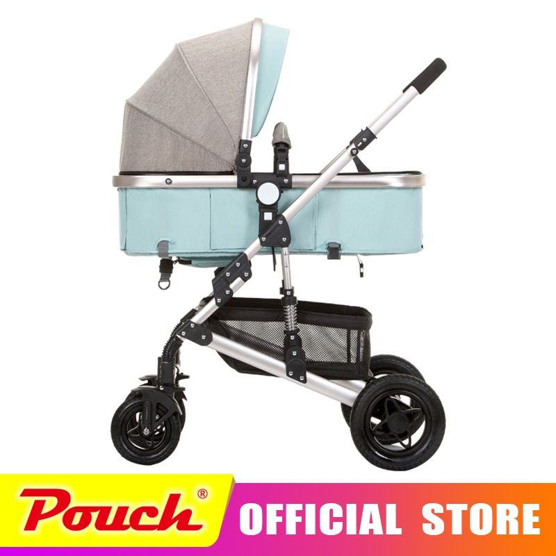 anershi 2018 new stroller high landscape can sit or lie on wheel portable <font><b>baby</b></font> carts <font><b>baby</b></font> stroller Free shipping