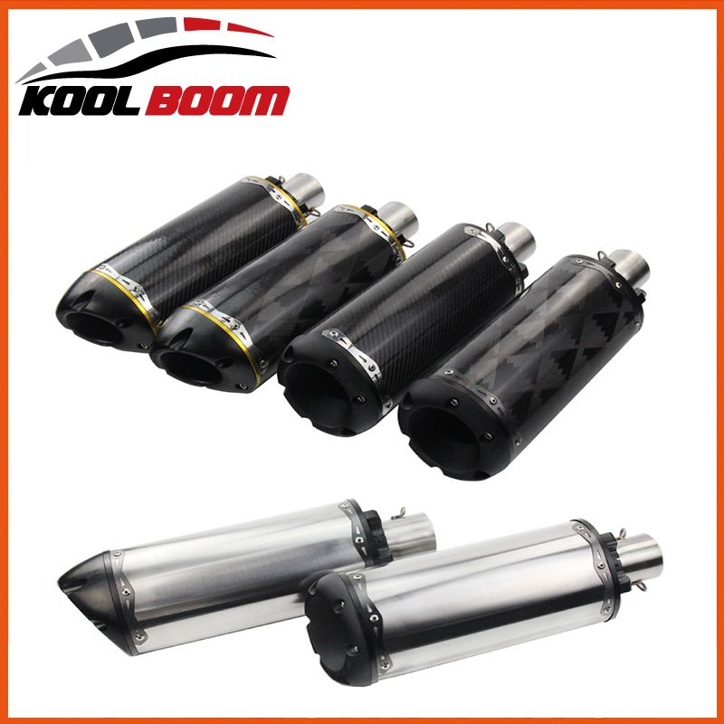 Motorcycle muffler pipe motogp cbr Akrapovic accessories twobrothers escape de moto ktm 36-51mm twobrothers two brothers exhaust