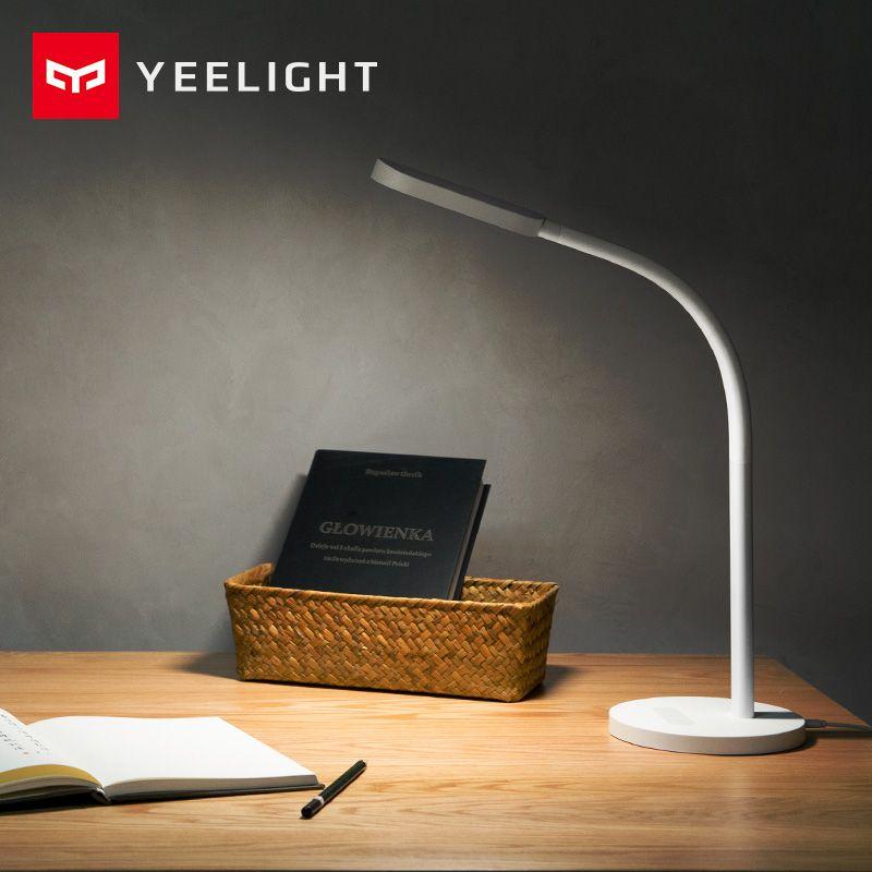 Original Xiaomi Yeelight mijia Led desk lamp Smart Folding touch Adjust Color Temperature Brightness For xiaomi mi smart home