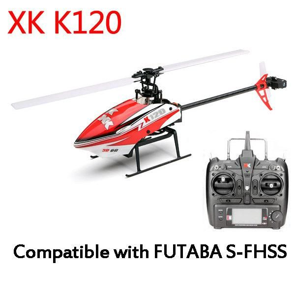 SYMA XK K120 Shuttle 6CH Brushless 3D 6G System RC Helicopter RTF/BNF