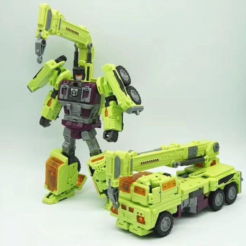 Transformation NBK KO GT Devastator figure toy engineering truck combiner Toys Birthday Gifts For Kids
