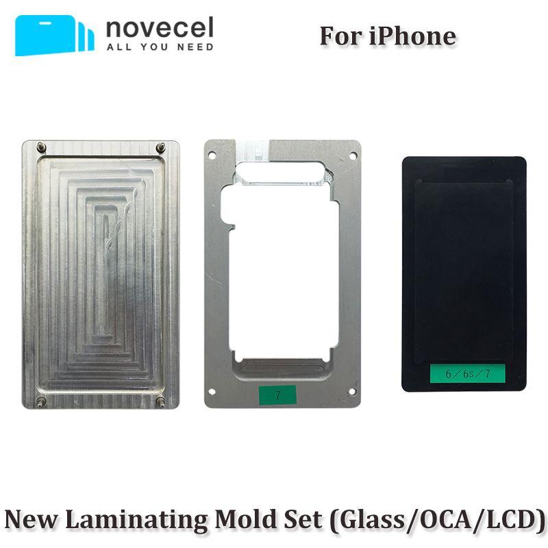 2 teile/satz OCA/LCD/Glas Ausrichtung Positionierung & Laminieren Mould Vakuum Laminator Universal Formen Für iPhone 8G 6 6 S 7G Plus