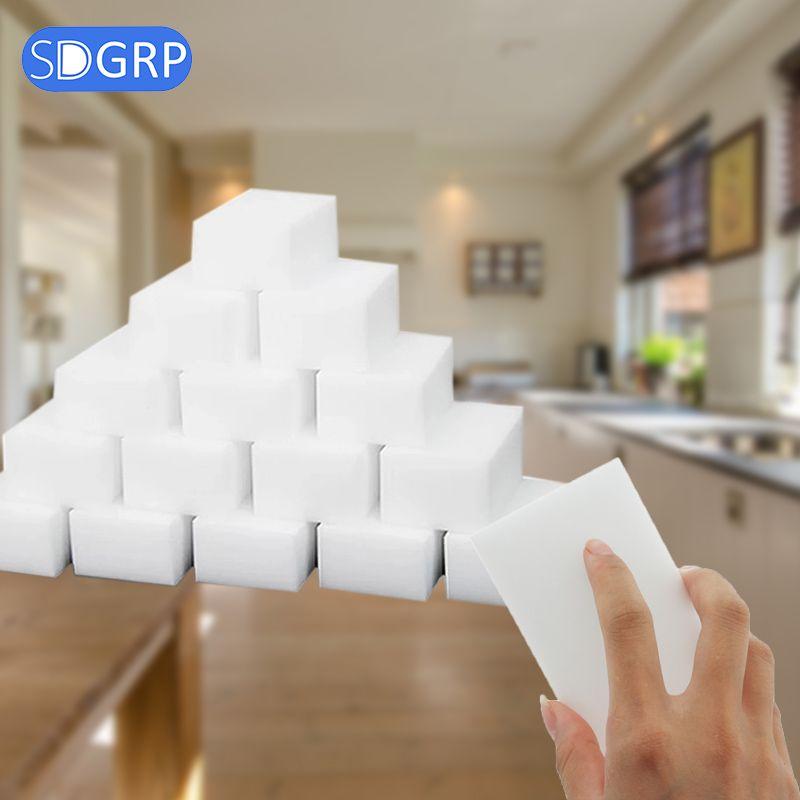 Mélamine éponge magique éponge gomme pour cuisine bureau salle de bains propre accessoire/plat nettoyage Nano 10*6*2 cm 100 pièces/40 pièces/SDGRP