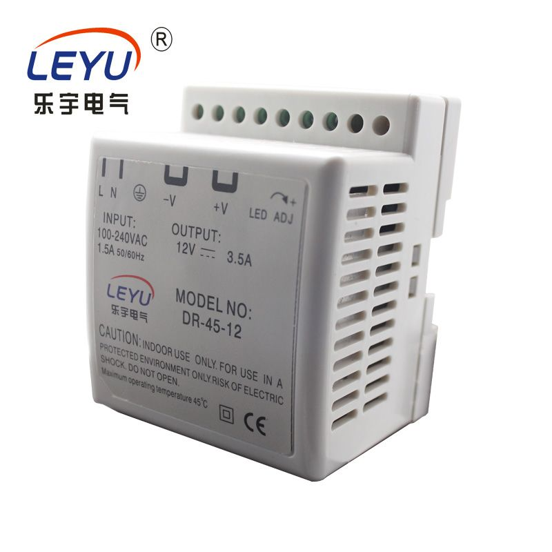 Multiple express DR-45-12 Single group rail type SMPS industrial equipment DIN RAIL 45W switching power