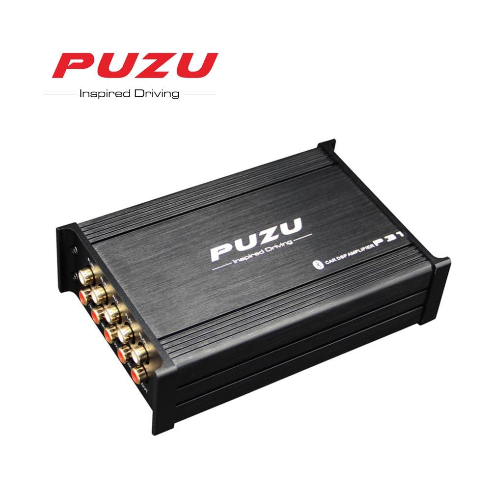 PUZU P31 non-destructive ISO cable Car signal Processor Amplifier 4X85W support computer31 Band tuning android app car DSP audio