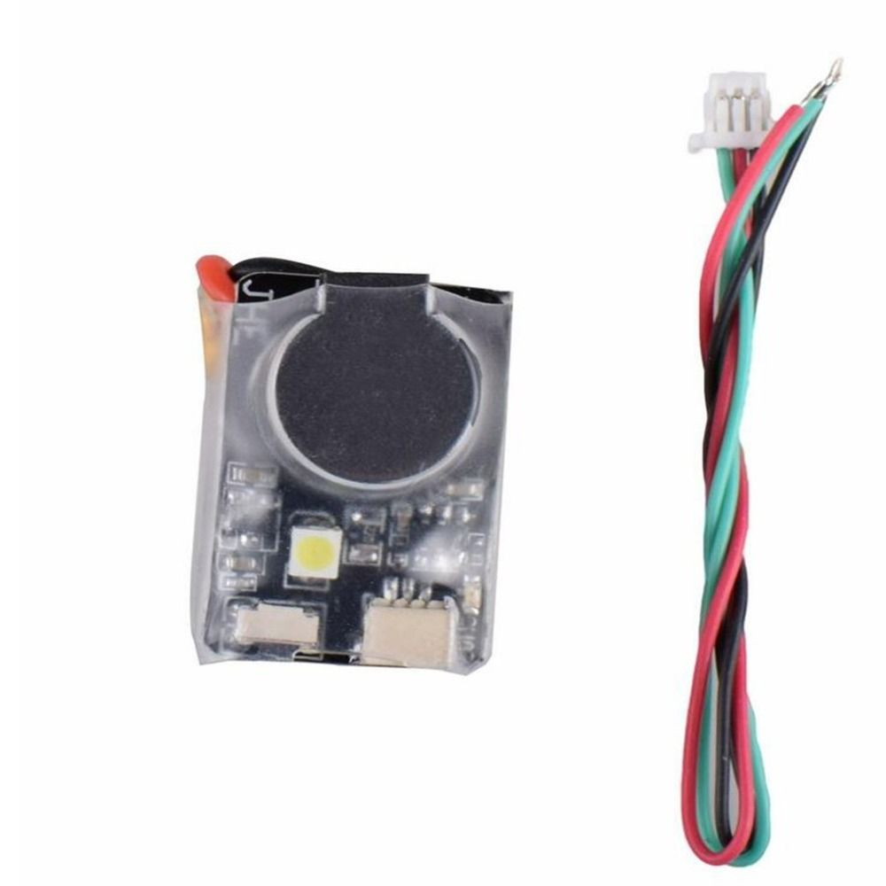 JHE42B Finder 5V Super Loud Buzzer Tracker 110dB with LED Buzzer Alarm For Multirotor FPV Racing Drone Flight Controller tt