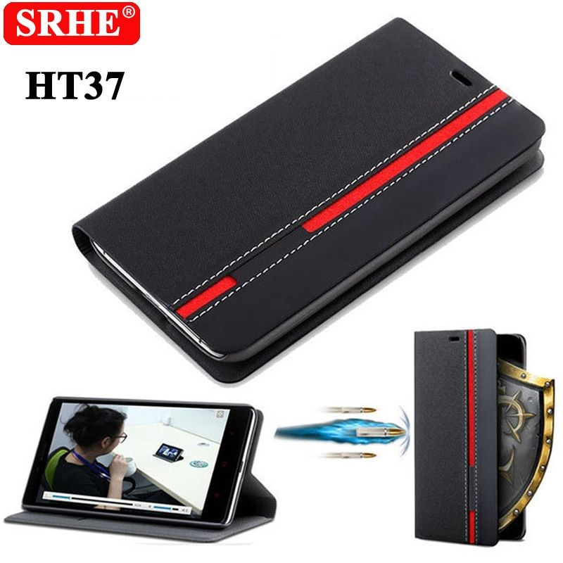Homtom HT37 Case Flip Luxury Fashion PU Leather Back Fundas Coque Cover Case For Homtom HT37 With Phone Stand