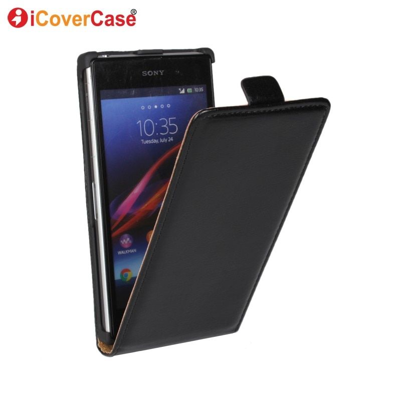 Cover for Sony Xperia Z3 Compact Case Z1 L39h C6903 Z2 Miro ST23i U St25i J ST26i M C1905 M2 SP M35h Flip Leather Wallet Coque