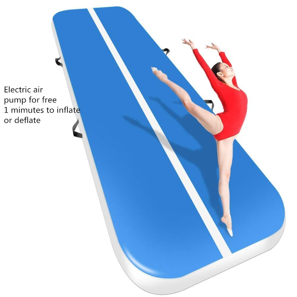 Free Shipping 3m 4m 5m Inflatable Cheap Gymnastics Mattress Gym Tumble Airtrack Floor Tumbling Air Track For Sale