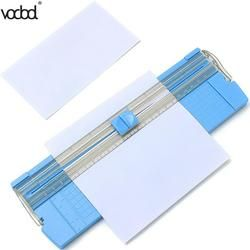 VODOOL A4/A5 Précision Papier Photo Tondeuses Cutters Guillotine avec Pull-out Règle pour Photo Étiquettes Papier De Coupe couleur Aléatoire