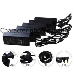12 V 1A 2A 3A 5A 6A 8A 10A alimentation pour led strip UE/US/UK/AU adaptateur pour AC110-220V à DC12V options plug transformateur