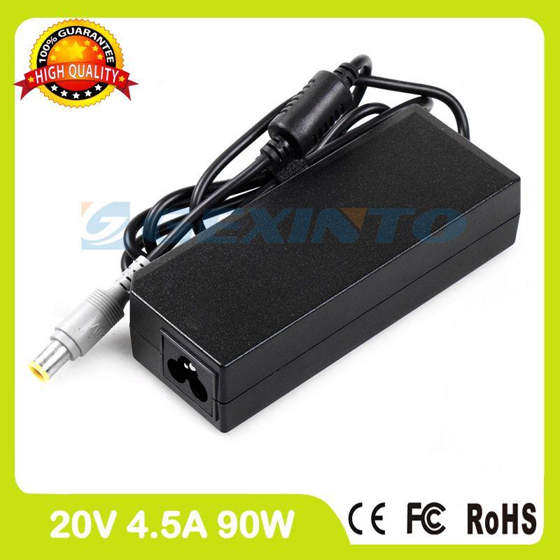 20V 4.5A 90W ac adapter 92P1159 92P1160 laptop charger for Lenovo ThinkPad Edge E520 E525 E530 E530c E535 E545 S220 S420 S430