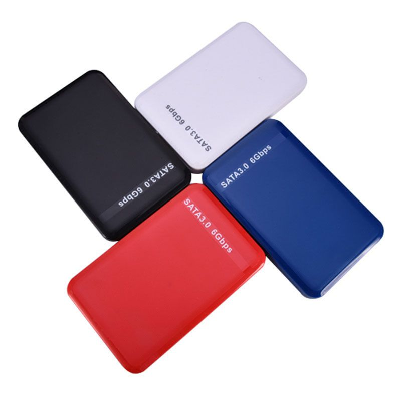 2.5 Inch High Speed USB 3.0 SATA Hard Drive External Enclosure Case HDD D Disk Box Cases Support 3 6Gbps SL@88
