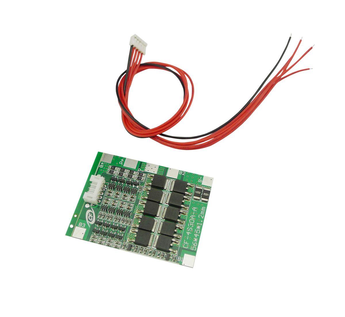 Aihasd 4 s 30A 12 v Lithium-Eisen Phosphat Lifepo4/LFP Batterie BMS Packs PCB Power Schutz Bord