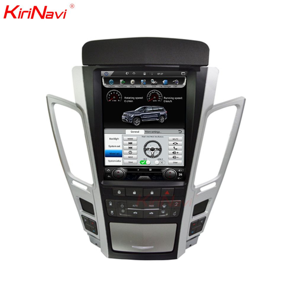 KiriNavi Android 8.1 2 Din Auto Radio Gps Navigation Für Cadillac CTS Auto Dvd Multimedia Player Automotivo Kopf Einheit 2007- 2012