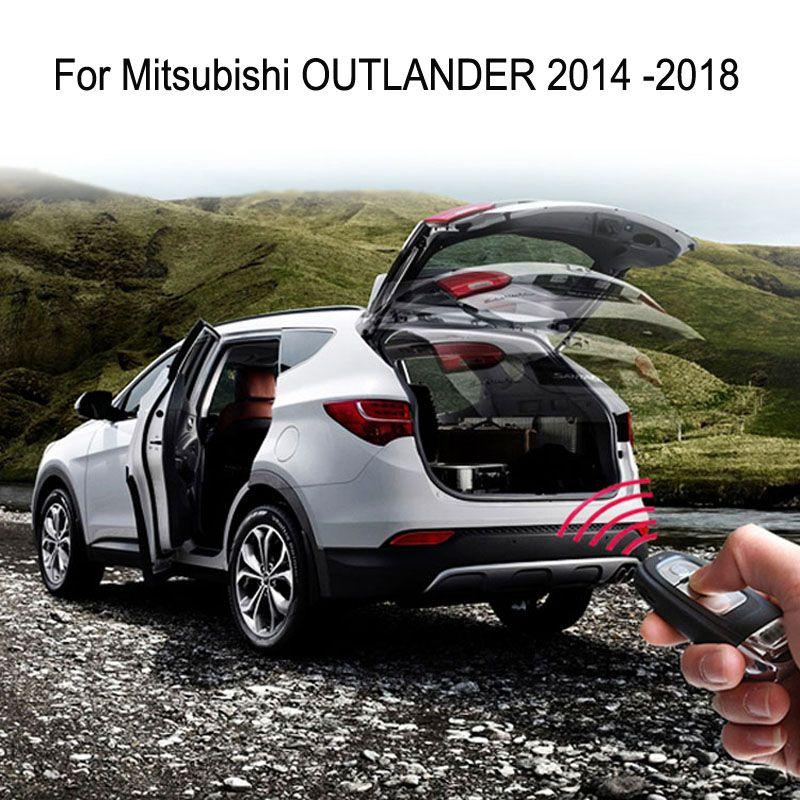 Auto Elektrische Schwanz Tor für Mitsubishi OUTLANDER 2014 2015 2016 2017 2018 2019 Fernbedienung Auto Heckklappe Aufzug