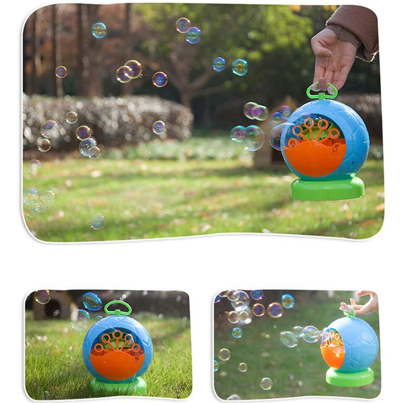 New Children's Bubble Machine Automatic Electric Bubble Gun Toy Wedding Stage Bubble Machine Birthday Holiday Gift High Soap