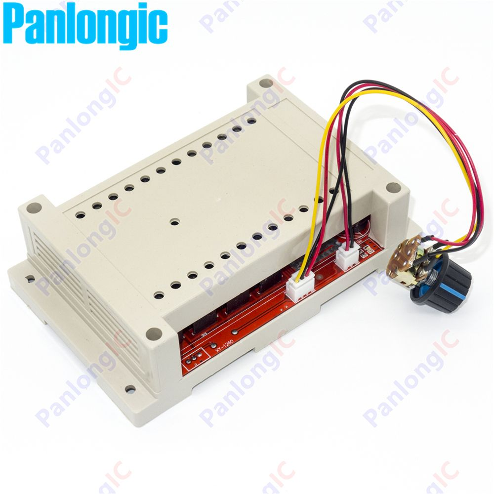 NEW 10-50V 60A DC Motor Speed Control PWM HHO RC Controller 12V 24V 48V 3000W MAX High Quality With Case Free Shipping