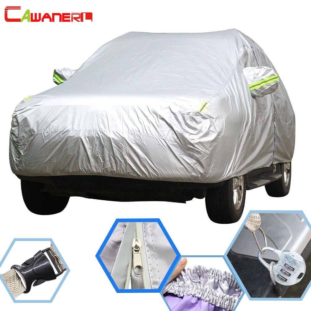 Cawanerl For Audi A1 A3 A4 A5 A6 A8 Q3 Q5 Q7 S3 S5 S8 S7 RS4 RS5 RS6 TT Waterproof Car Cover Sun Rain Snow Resistant Auto Covers