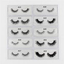 Mink Eyelashes 3D mink lashes long lasting mink eyelashes natural volume eyelashes extension false eyelashes Cruelty Free  Lash