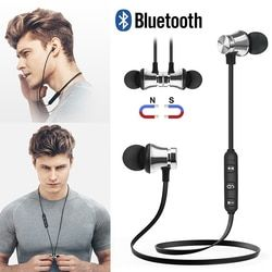 Nirkabel Bluetooth Earphone Stereo Headphone Audifonos Bluetooth Olahraga Headset untuk Xiaomi Iphone Samsung Ecouteur Auriculares