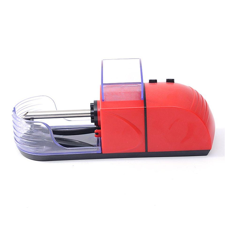 ONUOSS Portable Électrique Automatique Cigarette Machine À Rouler Le Tabac Rouleau Maker Injecter Tube 8mm Cigarette JL-033A