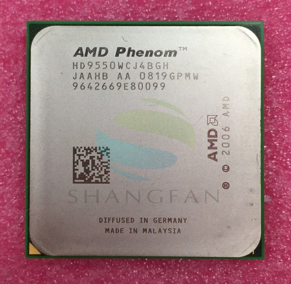 AMD AMD Phenom X4 9550 Quad-Core DeskTop 2.2GHz CPU HD9550WCJ4BGH Socket AM2+/940pin