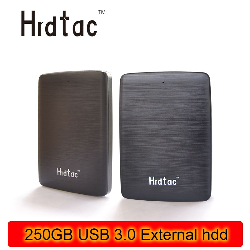 100% real NEW External portable Hard Drives HDD 250GB USB 3.0  disk 250gb usb 3.0  for Desktop and Laptop Free shipping