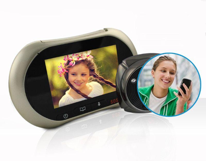 GSM Сигнализация Видео Дверной Звонок Motion Обнаружения Глазок