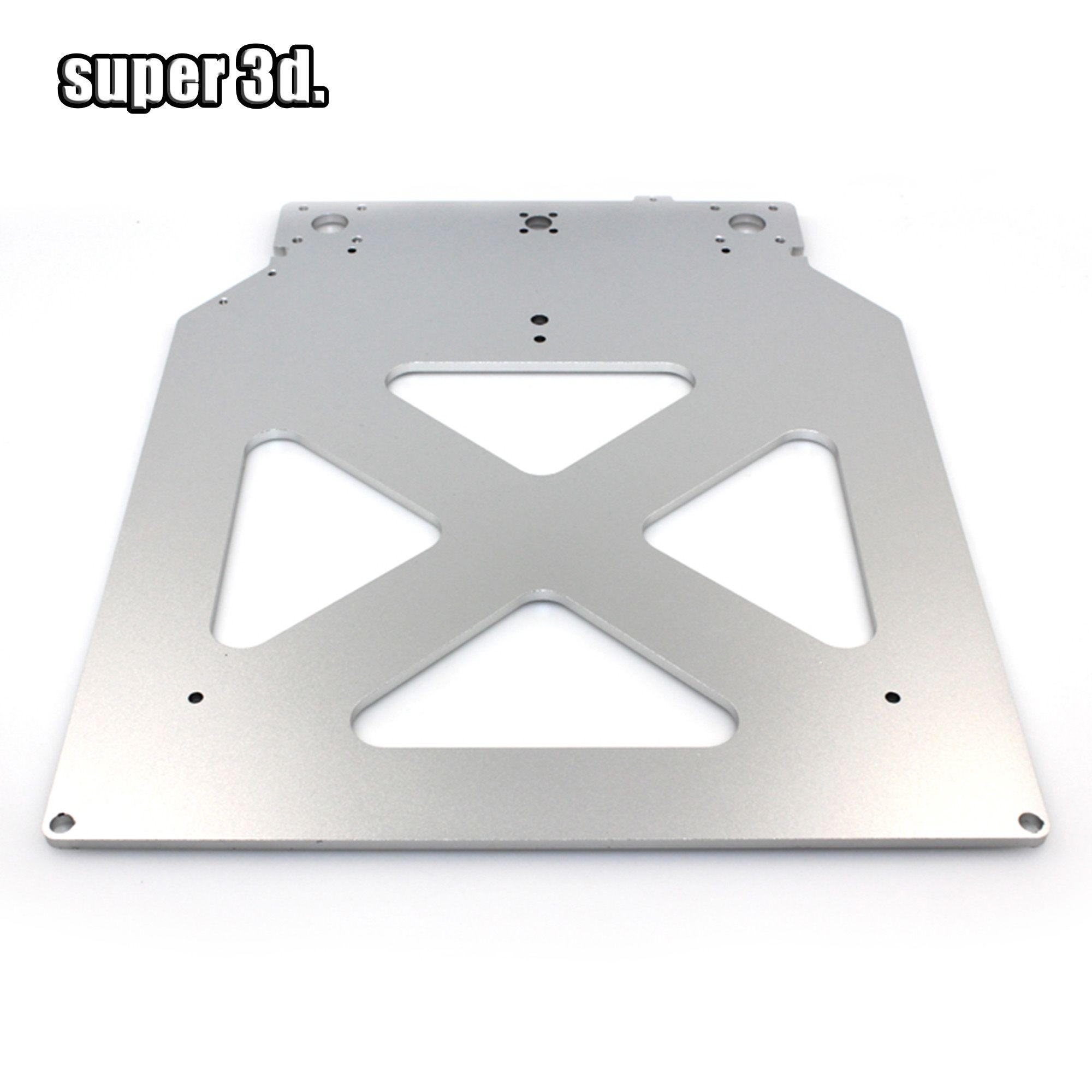 Ultimaker 2 UM2 Z Tabelle Basis Platte plattform halterung unterstützung aluminium beheizt heißer bett platte für 3D drucker teile