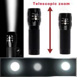 Castnoo Q5 2000 LM LED Senter untuk Sepeda 5 Mode Tahan Air Senter Torch Zoomable Lanterna Mini Sepeda Lampu untuk Bersepeda