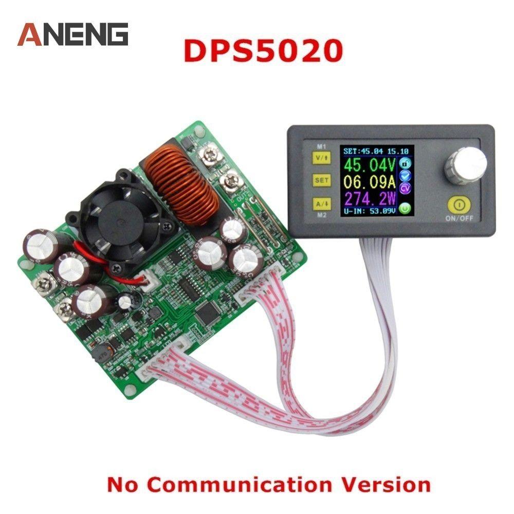DPS5020 courant de tension constante abaisseur Communication numérique alimentation convertisseur de tension LCD voltmètre 50 V 20A