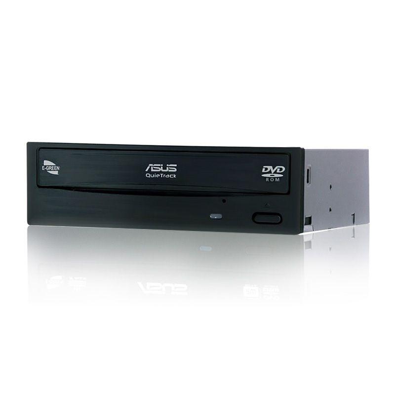 ASUS DVD-E818A9T DVD-ROM SATA 18X DVD-ROM 48X CD-ROM Interne Lecteur E-GREEN pour De Bureau DVD Pilote 198KB Cache