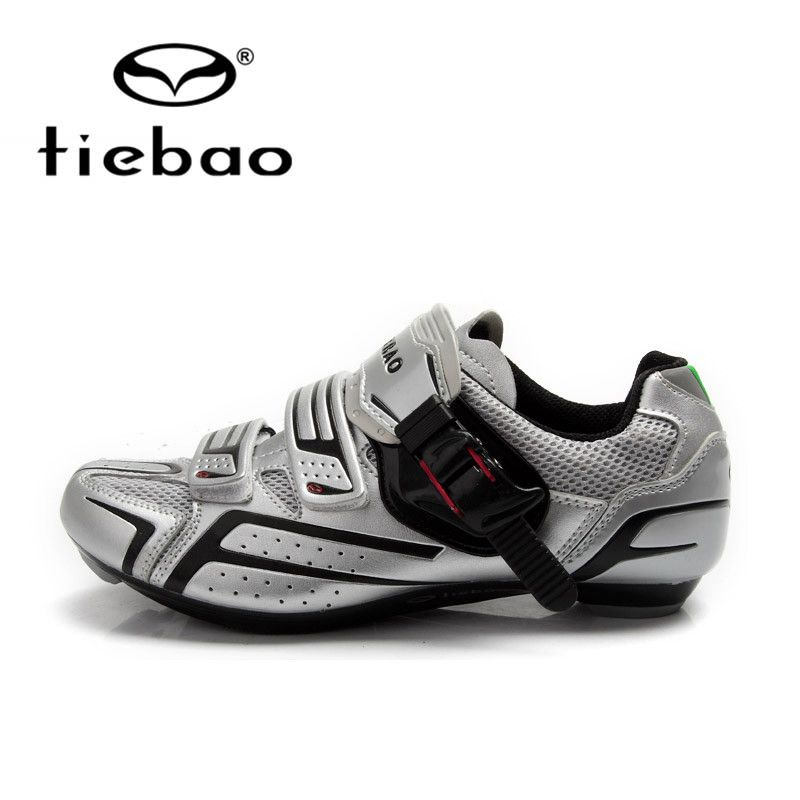 Tiebao Cycling Shoes For Men Women Road Bike Shoes Self-Locking Sport Shoes Breathable Bicycle Shoes Zapatillas Zapato Ciclismo