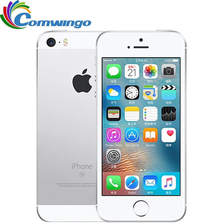 Original Unlocked Apple iPhone SE LTE Cell Phone 2GB RAM 16/64GB ROM Dual-core IOS A9 4.0