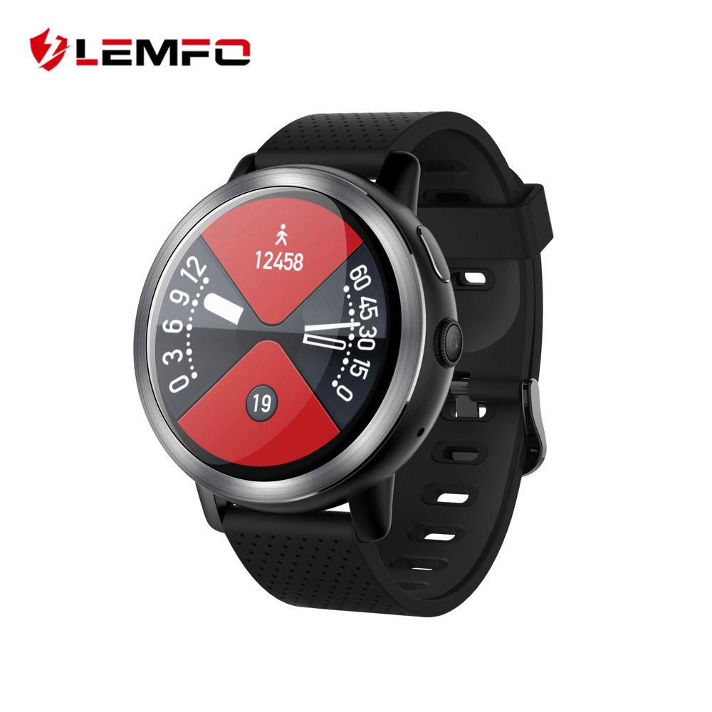 LEMFO LEM8 4G Smart Watch Android 7.1.1 2GB + 16GB With GPS 2MP Camera 1.39 Inch AMOLED Screen 580Mah Battery Smartwatch Men