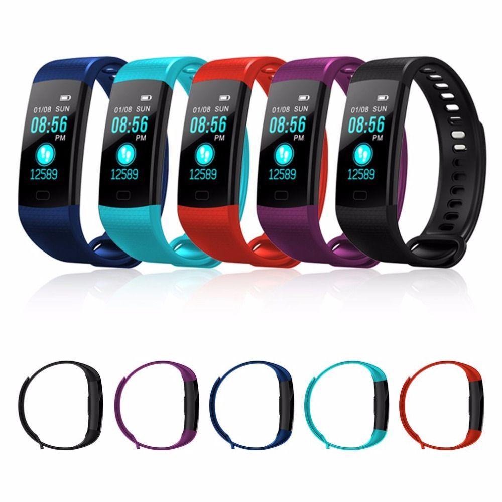 Y5 bande intelligente pulsomètre Fitness Bracelet intelligent activité Tracker podomètre santé sommeil montre intelligente vibrant réveil