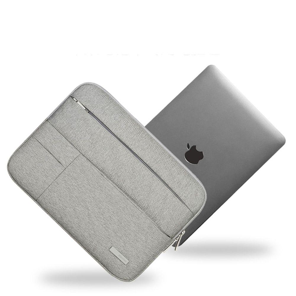 Hommes femmes souple nylon laptop sleeve pour dell asus lenovo hp apple xiaomi ordinateur sac 11 13.3 pouce notebook case