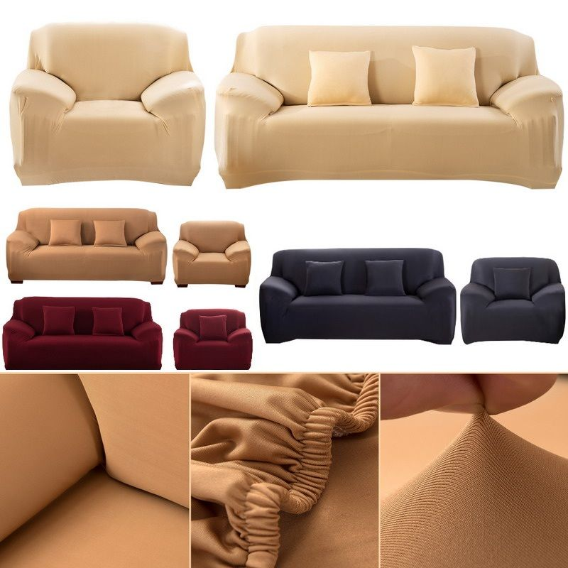 90-230 cm Flexible Stretch Sofa <font><b>cover</b></font> Big Elasticity Couch <font><b>cover</b></font> Solid sofa Machine Washable Polyester fiber Funiture <font><b>Cover</b></font>