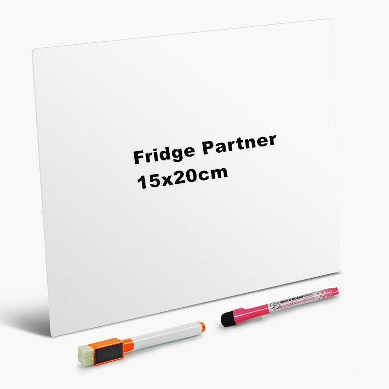 Tableau blanc tableau d'écriture amovible tableau d'affichage amovible tableau blanc bloc-notes tableau magnétique réfrigérateur