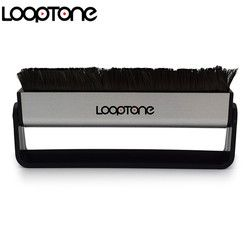 LoopTone Turntable Player Accessory Anti Static Carbon Fiber Vinyl record Cleaner Cleaning Brush for CD/LP