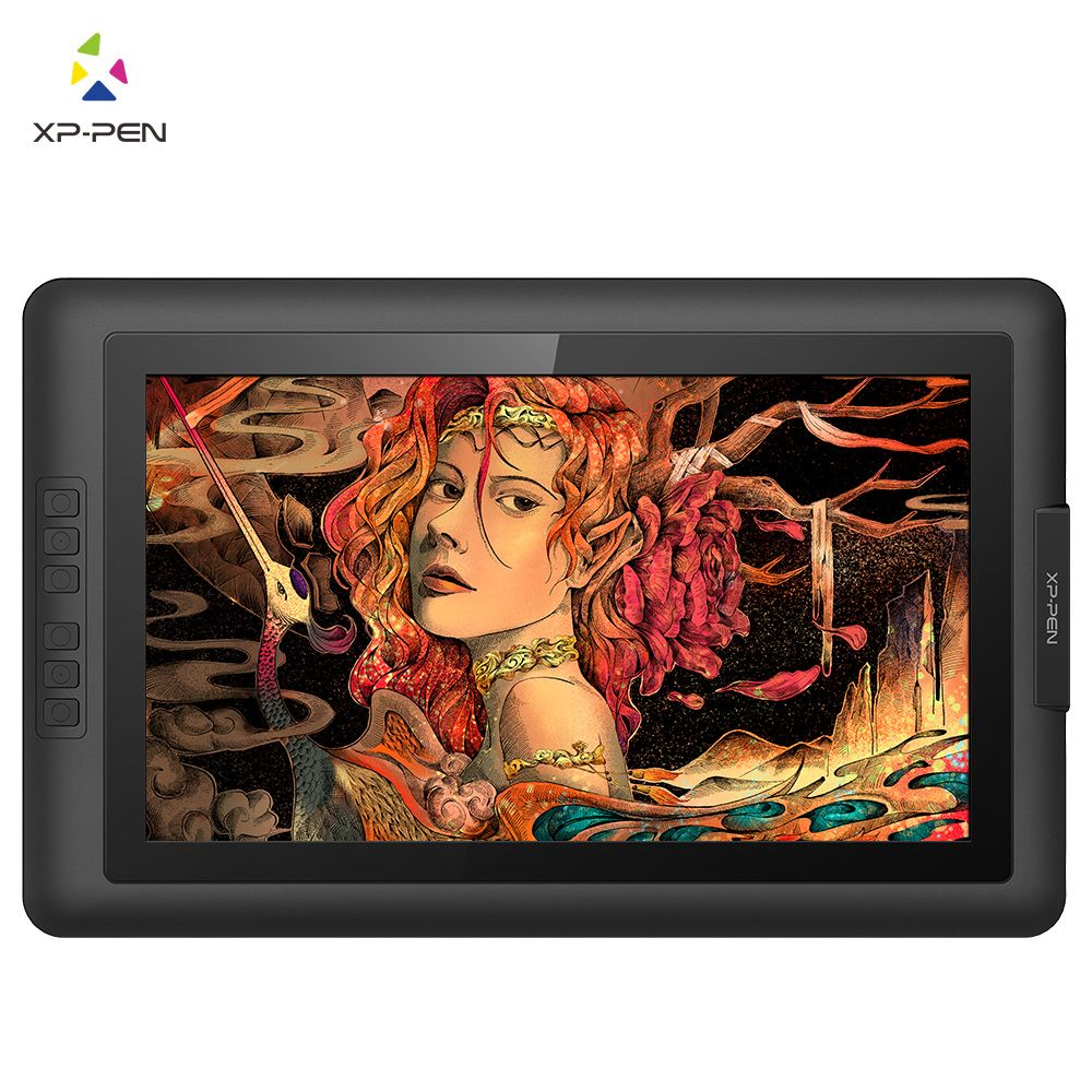XP-Pen Artist15.6 IPS Drawing Pen Display Graphics Drawing Monitor with Battery-free Passive Stylus (8192 levels pressure)