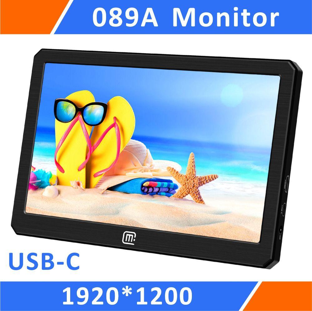 Tragbare HDR Gaming Monitor-8.9 Zoll 1920*1200 IPS QHD LCD Display USB Powered für Xbox, PS4, PS3, Raspberry Pi Und Mini PC (089A)