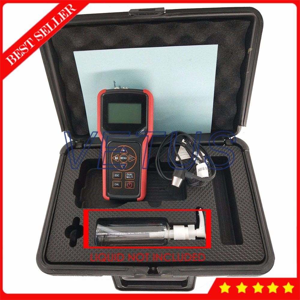 Hand-gehalten Präzise Upad X300 Durch Beschichtung Ultraschall-dickenmessung Meter Tester mit USB Lagerung 1000 Daten Sets
