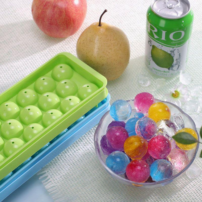1 шт. 20 ячеек Круглая Ice Cube мяч формы для льда для питья холодной виски ice cube чайник Кухня бесплатная доставка 1721